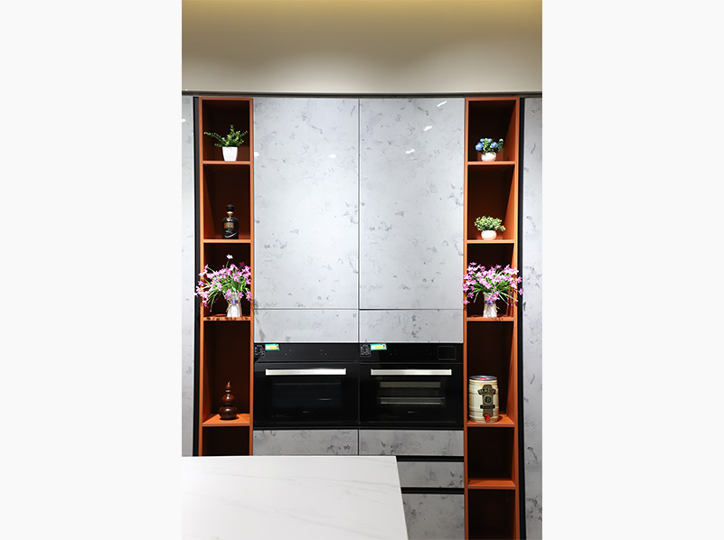 蒸烤箱嵌入式厨房高柜